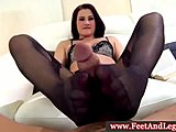 Amazing studs get horny by watching the barefeet