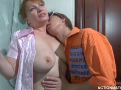 Grandmother, Cougar, Mature, Huge, Young, Fucking, Natural tits, Cock, Sucking, Old and young, Russian, Boobs, Wife, Titty fuck, Granny, Old, Mommy, Mom and boy, Tits, Blowjob, Big tits