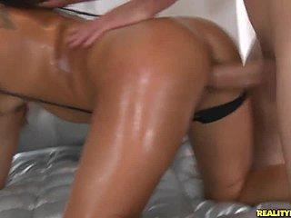 Brunettemodell Porno