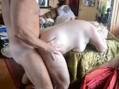 Grandmother, Doggystyle, Mature, Quickie, Hairy, Old, Granny, High definition, Bent over, Fucking
