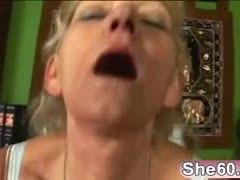 Grandmother, All holes, Mature, Slut, Assfucking, Fucking, Blonde, Granny, Anal, Hardcore, Whore