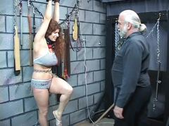 Punished, Whipping, Submission, Mature, Young, Lingerie, Basement, Bdsm, Disgrace, Maledom, Big tits, Redhead, Domination, Slave, Bondage, Fat, Bbw, Roleplay, Rough, Master, Extreme, Feet, Sex, Fetish, Tits, Boobs, Bound