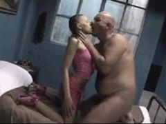 Old and young, Teen, Young, Old, Old man, Amateurs, Dad and girl, Brunette, Blowjob