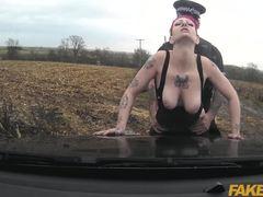 Cumshot, Monster cock, Big cock, Police, Oral, High definition, Blowjob, Sex, Vagina, Tattoo, Car, Big tits, Cum, Caucasian, Outdoor, Cock, Tits, Couple, Redhead