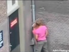 Sex, Blonde, Hidden cam, Street, Hidden, Extreme, Voyeur, Outdoor, Public, Doggystyle, Bent over, Amateurs