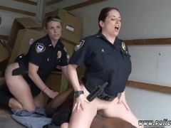 Uniform, Police, Caught, High definition, Teen, Interracial