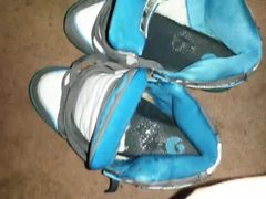 Espadrilles , Sperme , Chaussures , Cracher