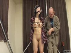 Old and young, Fetish, Bizarre, Bound, Young, Japanese, Bondage, Bdsm, Old, Asian, Spanking