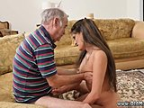 Old and young, Group, Double penetration, Double, 3 some, Old, Young, Teen, Brunette, Amateurs, Facial